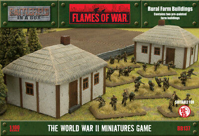 Flames of War - Rural Farm Buildings
