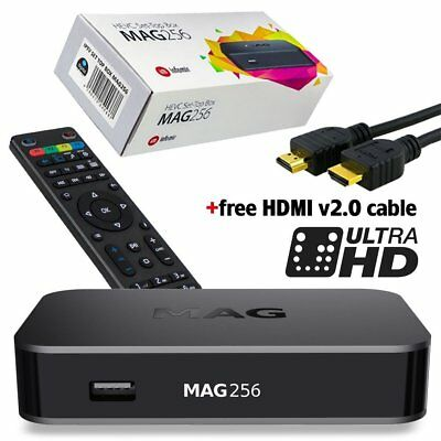 Refurbished MAG 256 w1 Infomir IPTV/OTT Set-Top Box WiFi 2.4 Built-in