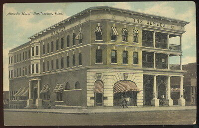 Early Picture Post Card, Almeda Hotel, Bartlesville, Ok.