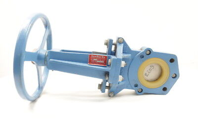 Newcon 150psi Manual Iron Flanged 3in Knife Gate Valve