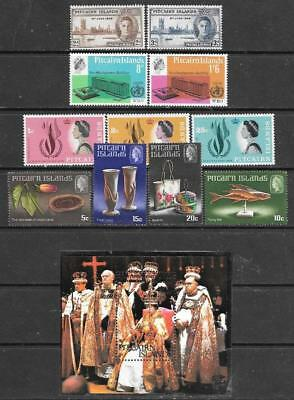 PITCAIRN Is - 4 x Sets + 1 x M/sheet, Mainly MNH - 1946-1978 Period