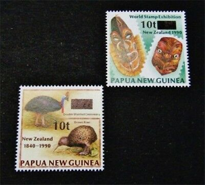 nystamps British Papua New Guinea Stamp # 8662 863 Mint OG NH $42