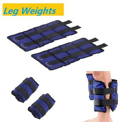 Wrist Ankle Leg Weight Running Training Weight Loss Fitness Gym Straps 5KG UK