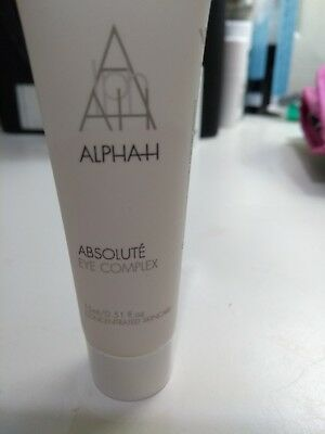 Alpha h absolute eye complex 15ml brand new and sealed