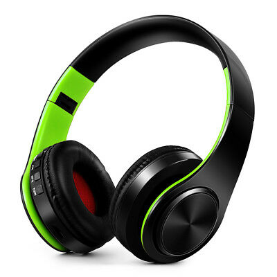 Wireless Bluetooth Headphones Stereo Bluetooth 4.0 Headsets MP3 Player TF F1W2