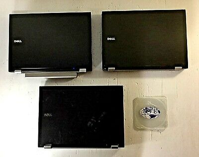 Mix Lot Of 3 Dell Latitude E6400 150Gb Hdd 2Gb 4Gb Ram Libra Office Windows