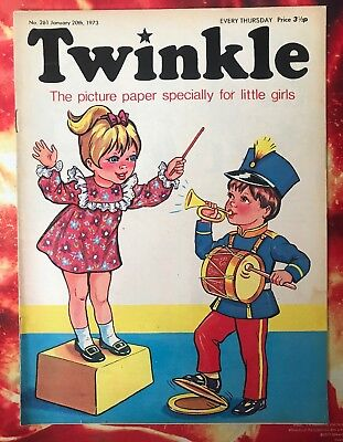 Twinkle  Comic No. 261. 20 January 1973. Lovely Condition. Vfn