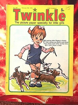 Twinkle  Comic No. 369. 15 Feb 1975. Puzzles Not Done. Fn+