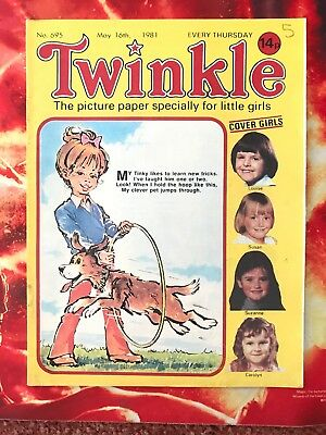 Twinkle  Comic No. 695. 16 May 1981. Puzzles Not Done. Excellent Condition. Vfn+