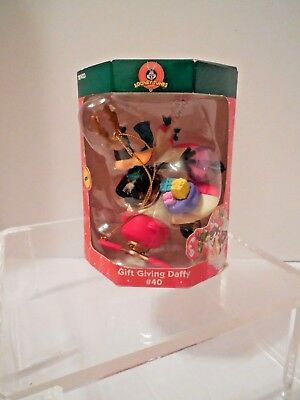 Looney Tunes Daffy Duck Christmas Ornament, 2001 Issue, NIB Licensed Warner Bros
