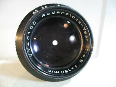 Rodenstock-Ysar 150MM f4.5 Enlarging Lens With 39MM Jam Nut #74