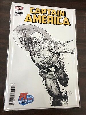 Captain America #1 San Diego Previews Exclusive Variant