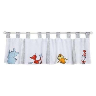 Trend-Lab 30062 Dr. Seuss Friends Window Valance