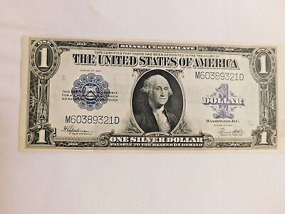 1923 $1.00 Silver Certificate Banknote