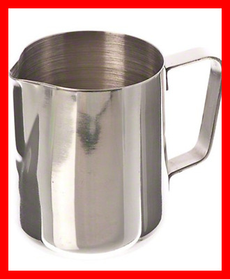 (EP-12) 12 Oz Stainless Steel Frothing Pitcher