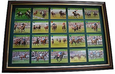 1000 Guineas Winners Cards Set 1981-2000 Mounted And Framed