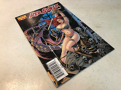 Signed Jim Balent Red Sonja #16 Variant Dynamite W/coa 200% Signature Guarantee