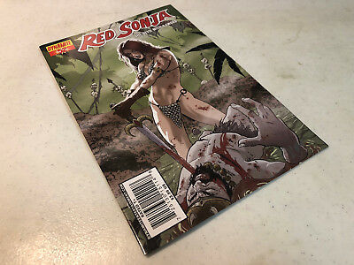 Signed Marc Wolfe Red Sonja #52 Variant Dynamite W/coa 200% Signature Guarantee