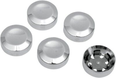 Drag Specialties 1201-0597 Rear Pulley Bolt Cover Chrome D26-0152 1201-0597