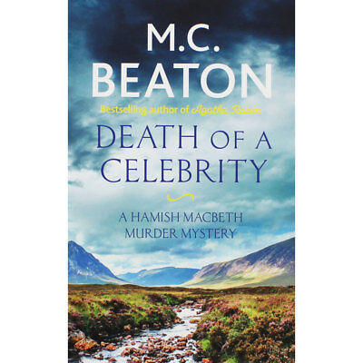 Death of a Celebrity by M. C. Beaton (Paperback), Fiction Books, Brand New