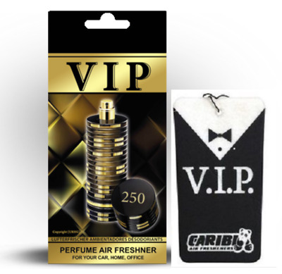 "250 Air Freshener Car Caribi VIP Parfume Home Office - Davidoff  ""The Game"""