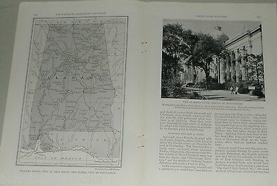 1931 magazine articles Alabama, People, industry, history, color