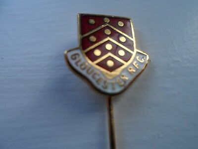 Gloucester Rugby Football Union Club Enamel Badge