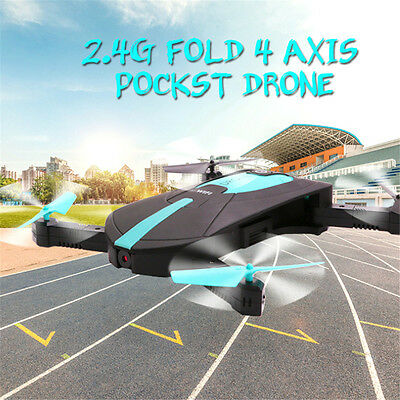 JY018 Mini Dron Foldable WiFi HD FPV Camera Quadcopter Selfie Drone RC Drones EC