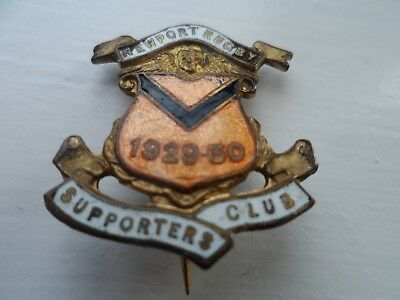 Newport Rugby Football Union Supporters Club Enamel Badge