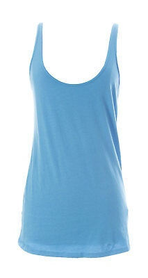 a2dbcbfae4287 VELVET by Graham   Spencer Women s Blue Cotton Tank Top Size Large ...
