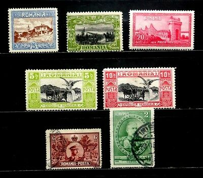 Romania: Classic Era Stamp Collection Of Better All Sound