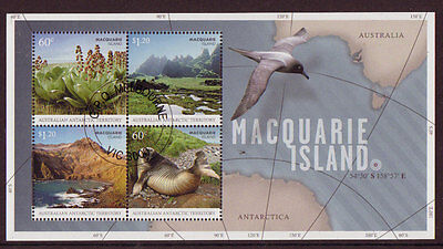 Australia Antarctic 2010 Macquarie Island Miniature Sheet Cto