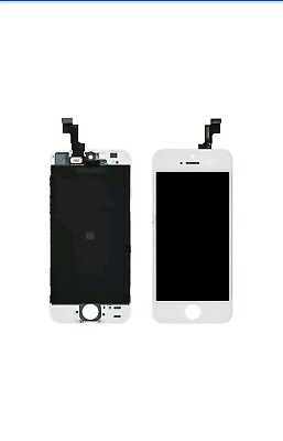 Frontal Pantalla Completa LCD IPS para iPhone 5S Retina Display Blanco Blanca
