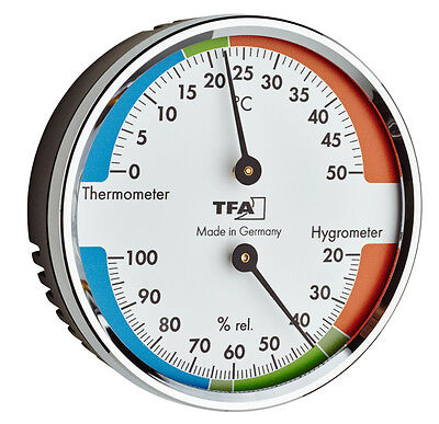 Thermometer Hygrometer Tfa 45.2040.42 Climate Control Air Humidity Indoor