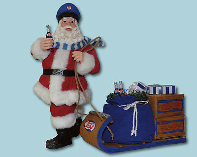Santa's Special Pepsi Delivery Clothtique Possible Dreams Collectible Santa 2017