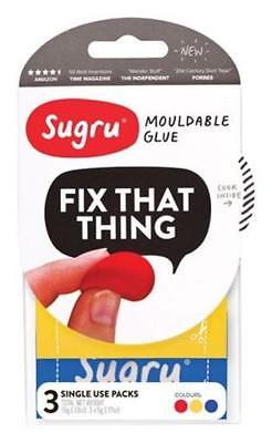 Sugru SRYB3 Fix That Thing Mouldable Adhesive