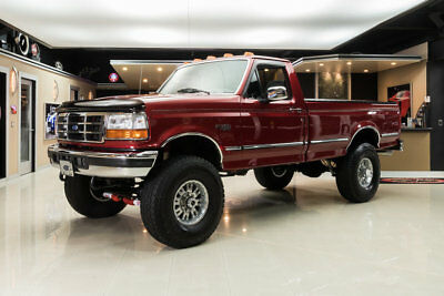 1997 Ford F-350 XLT 4X4 Pickup F-350 XLT 4X4! One Owner, 27k Actual Miles! # Matching, 5.8L V8, 5-Speed Manual