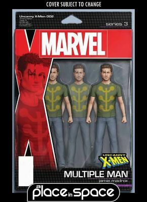 Uncanny X-Men, Vol. 5 #2B - Action Figure Variant (Wk47)