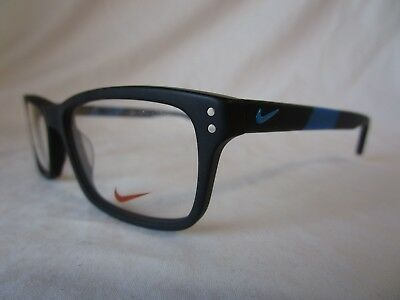 Nike 7237 Eyeglass Optical Frame Nk7237 010 Matte Black 52-17-140 New Authentic