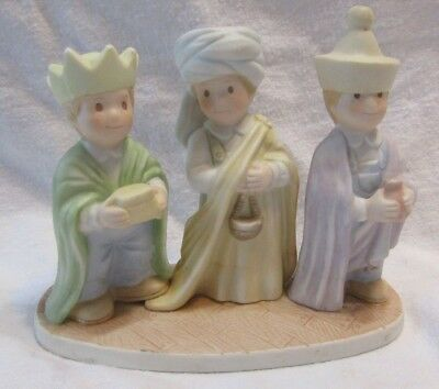 Home Interiors Homco Circle Of Friends Figurine Reference List w//Color Pictures