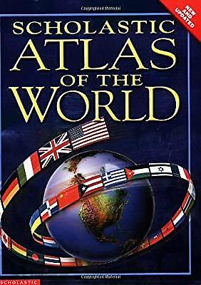 Scholastic Atlas of the World, , Used; Good Book