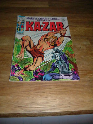 MARVEL SUPER -HEROES PRESENTS......KA-ZAR      No19  MARVEL     1969