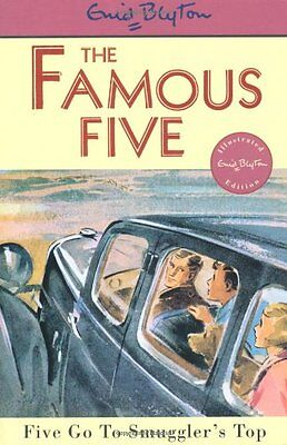 NEW (4)  FIVE GO TO SMUGGLER'S TOP ( FAMOUS FIVE book ) Enid Blyton