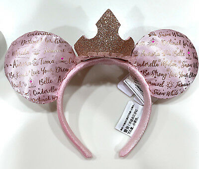 Disney Parks Princess Crown Mickey Mouse Ears Headband NEW