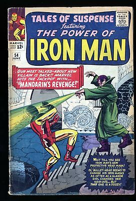 Tales Of Suspense #54 GD+ 2.5