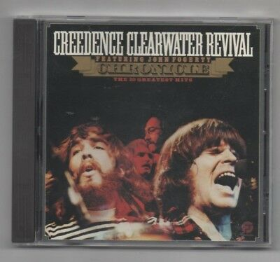 Creedence Clearwater Revival John Fogerty 20 Greatest Hits CD Bad Moon Rising