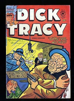 Dick Tracy Monthly #65 VG/FN 5.0