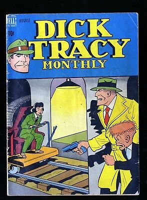 Dick Tracy Monthly #8 VG- 3.5