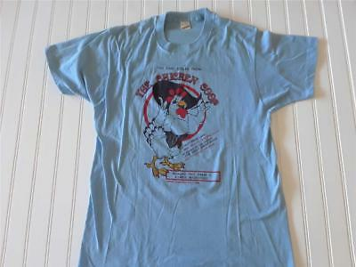 Vtg 1986 50/50 USA Thin The Chicken Coop Nevada Whorehouse T Shirt Size L