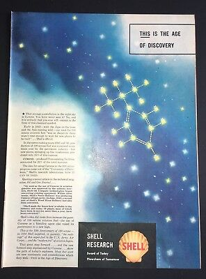 Life Magazine Ad 1944 SHELL RESEARCH